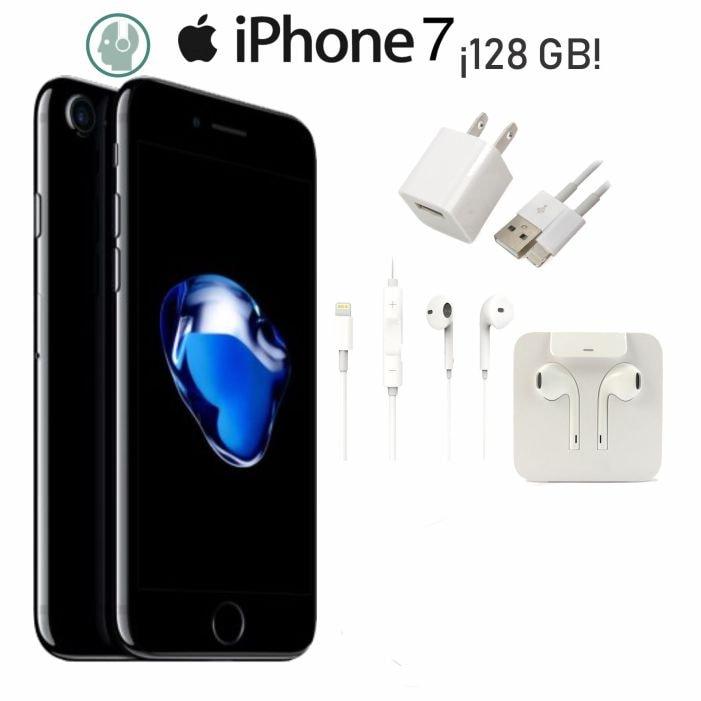 Iphone 7 128gb Caja Y Accesorios de Regalo