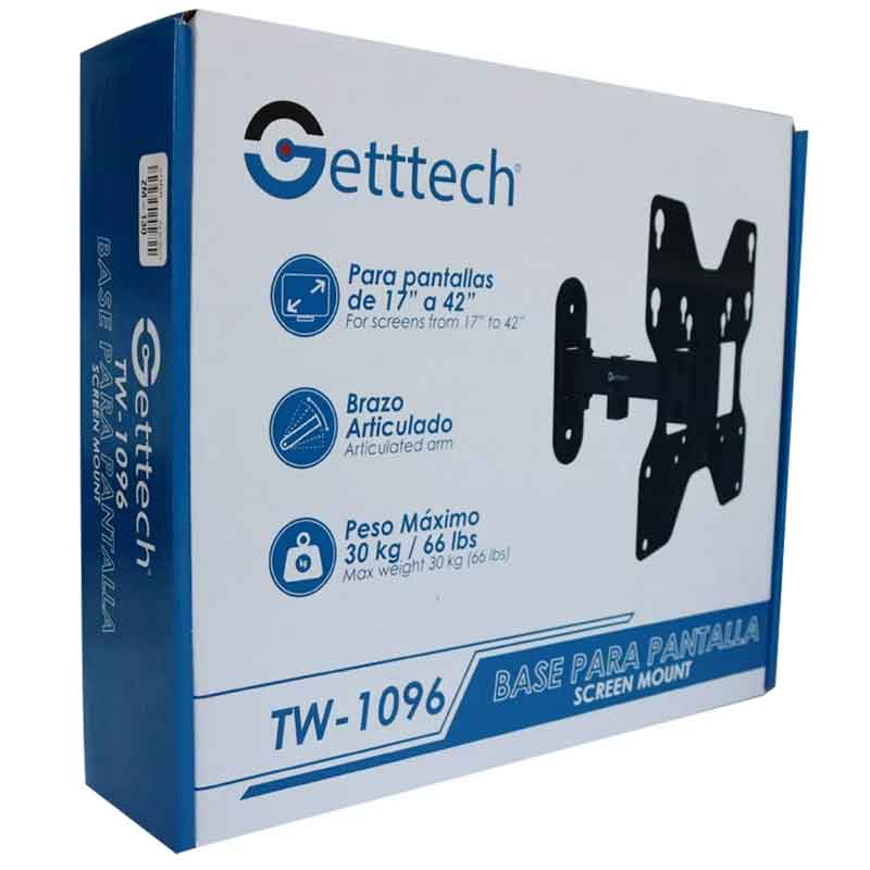 Soporte De PantallaGetttech TW-109617A4230KG Articulado