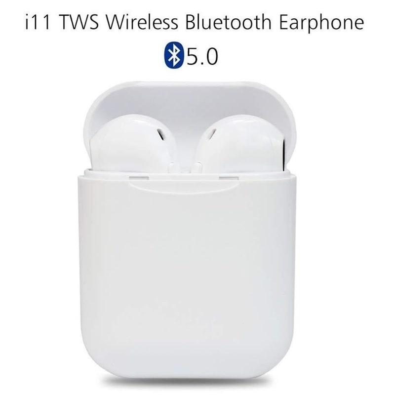 Audifonos Bluetooth tipo Airpods i11 TWS MINI NUEVOS