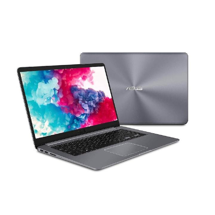 Laptop ASUS Vivobook F510Q AMD A12-9720P  128GB SSD RAM 4GB Pantalla 15.6 HD Win 10 NUEVA IMPORTADA GRIS