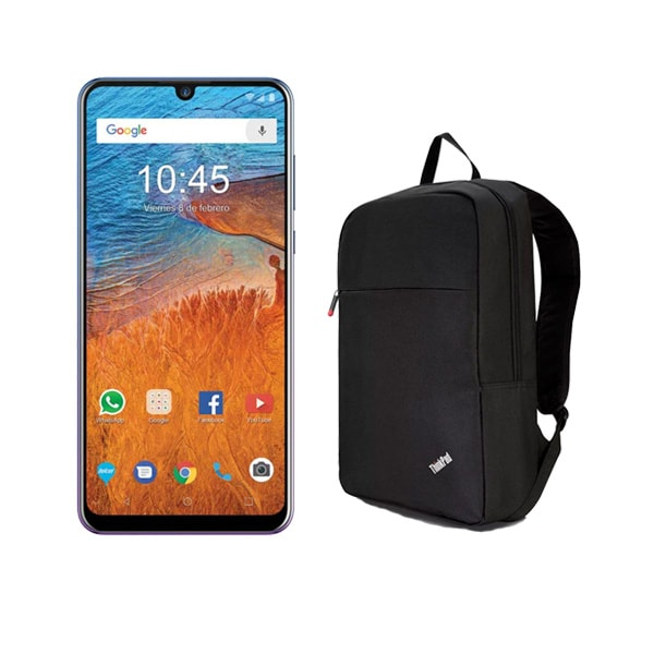 Celular ZTE LTE BLADE V10 64GB Color MORADO Telcel y de regalo una mochila BACK PACK LENOVO