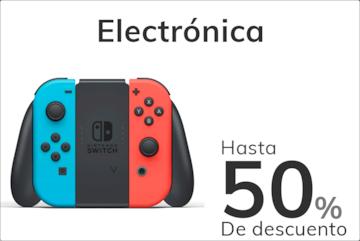 electronica hasta el 50