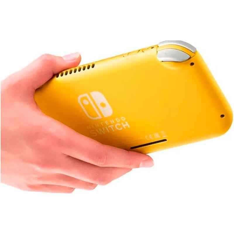 Consola Nintendo Switch Lite 32gb Amarillo Hdh-s-yazaa