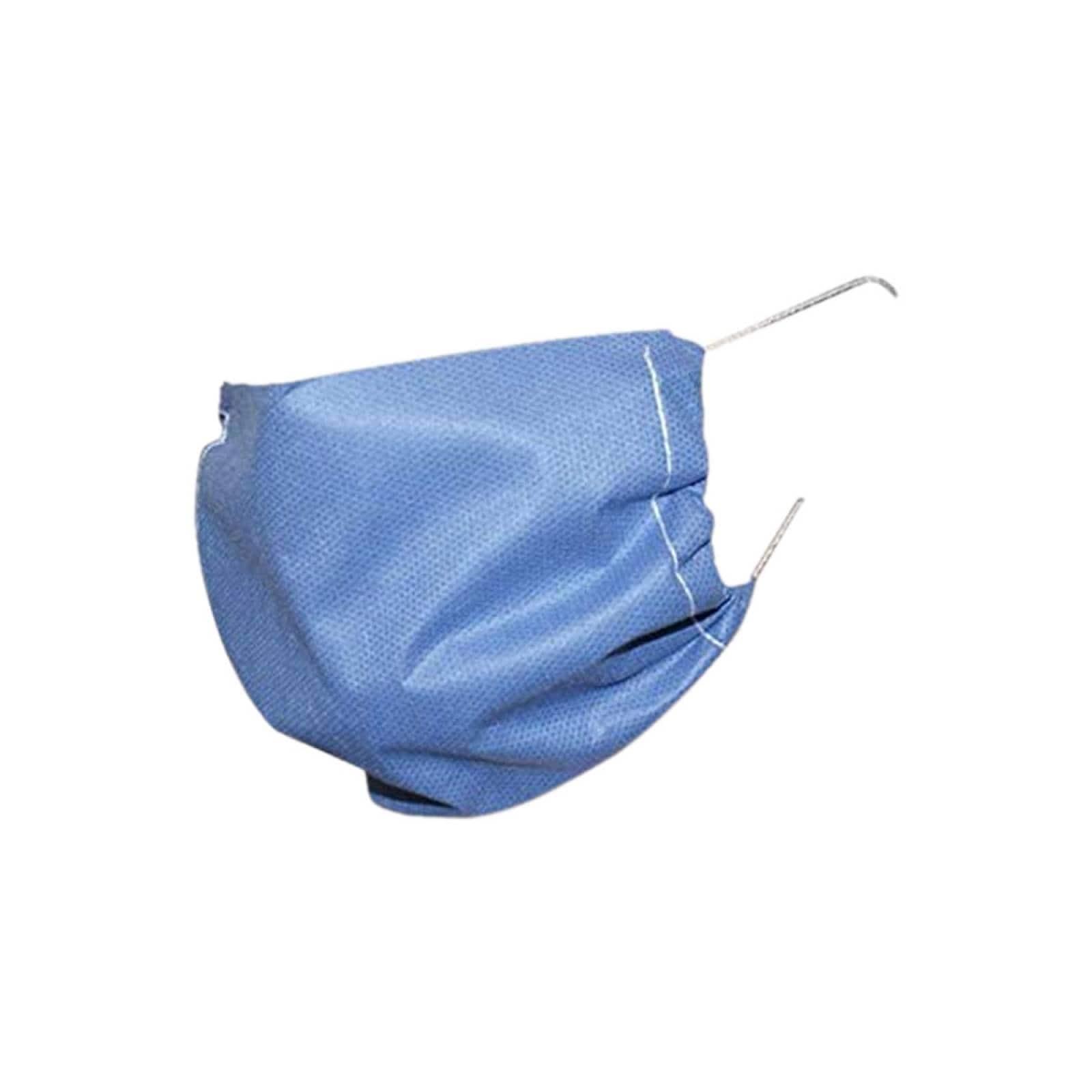 Mascarilla Cubrebocas 2 Capas Azul Preventivo Medico 100 Pzs