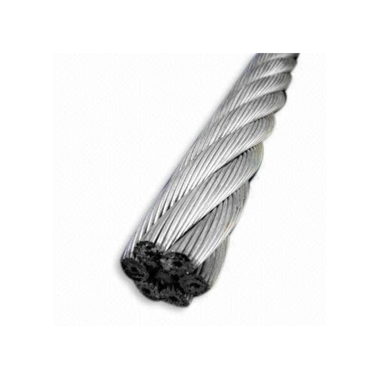 Cable de Acero Galvanizado en Rollo 7X7 3/8 y 75 Metros OBI
