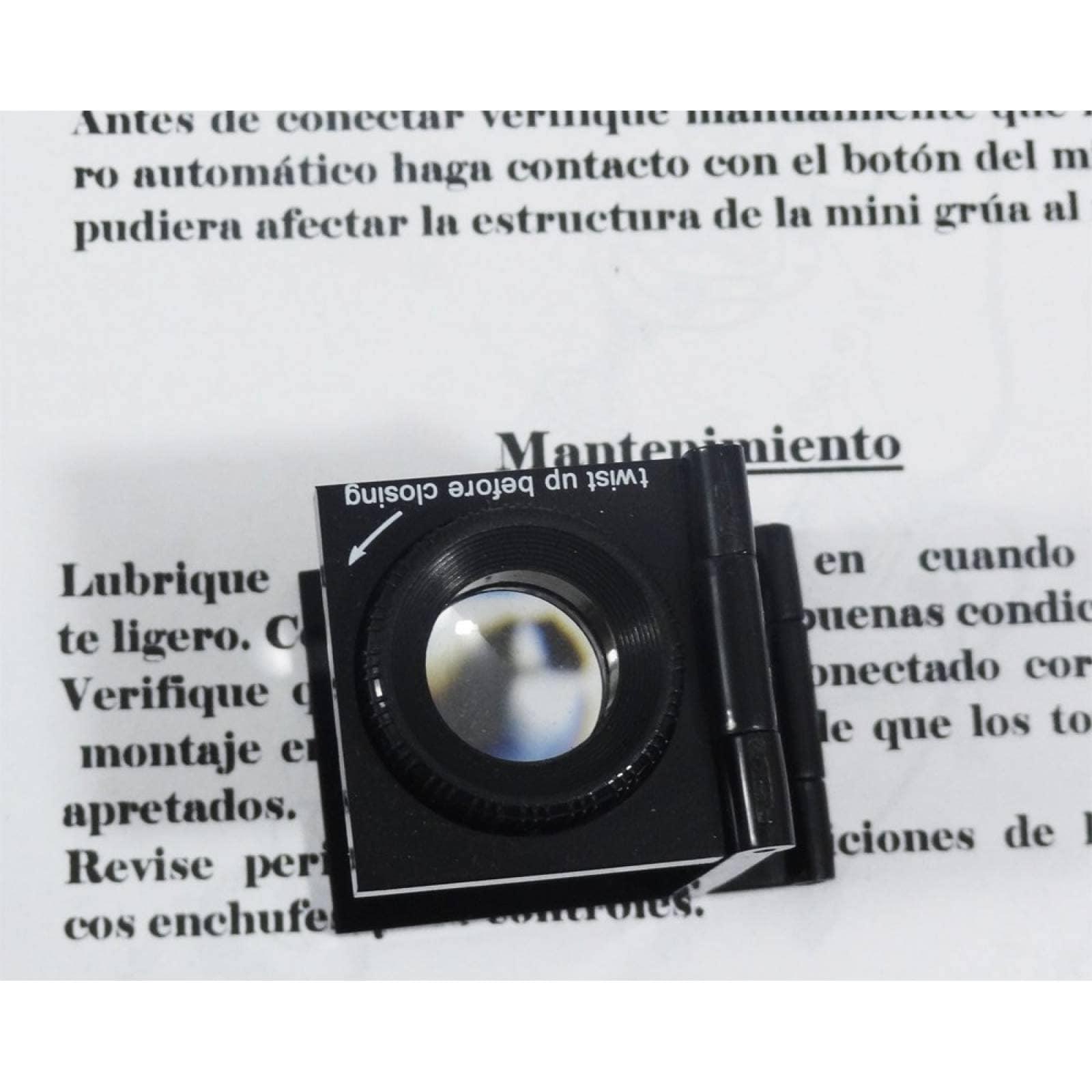 Lupa cuenta hilos enfocable de 15 mm aumento 10x 1c06640af1