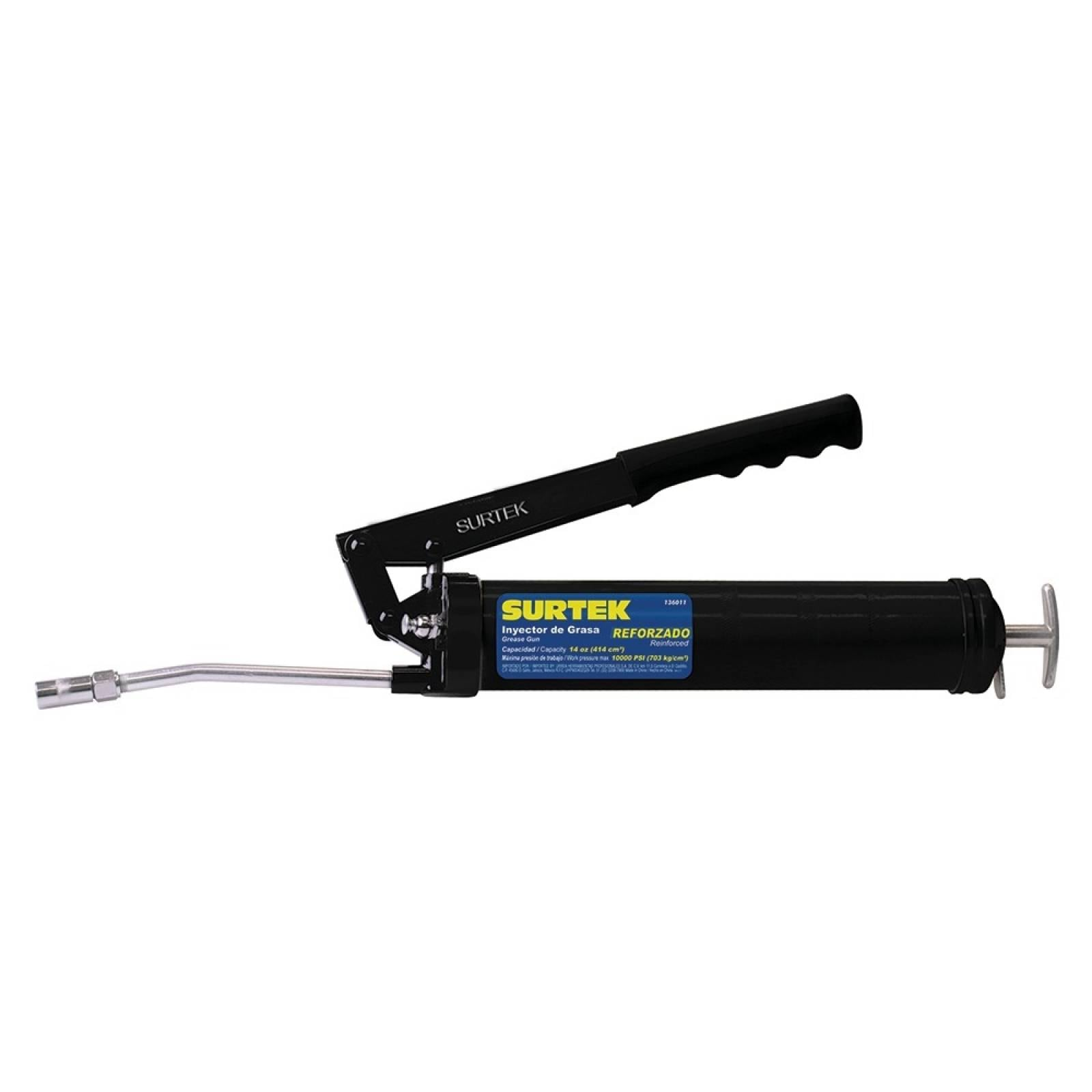 Inyector de grasa reforzado 14oz 136011 Surtek