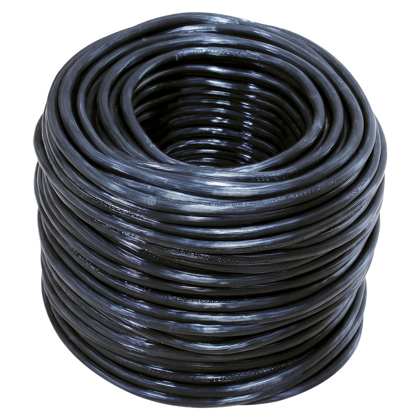 Cable eléctrico uso rudo Cal.3x12 100m blanco y negro 136936 Surtek