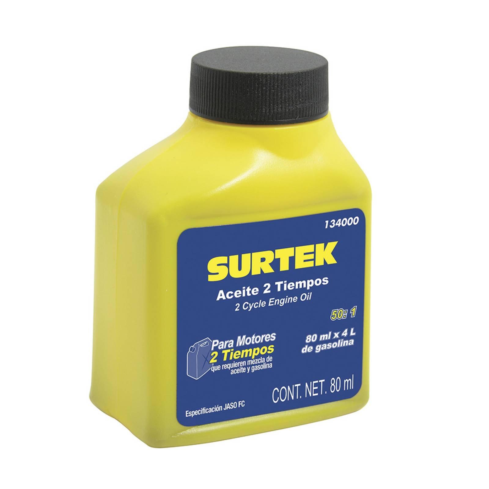 Aceite 2 tiempos 80 ml  134000 Surtek