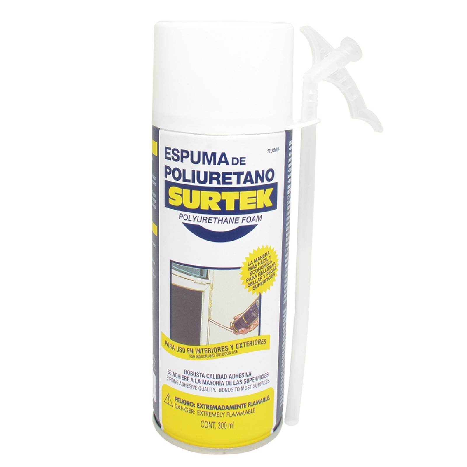 Espuma de poliuretano uso industrial 300 ml 113500 Surtek