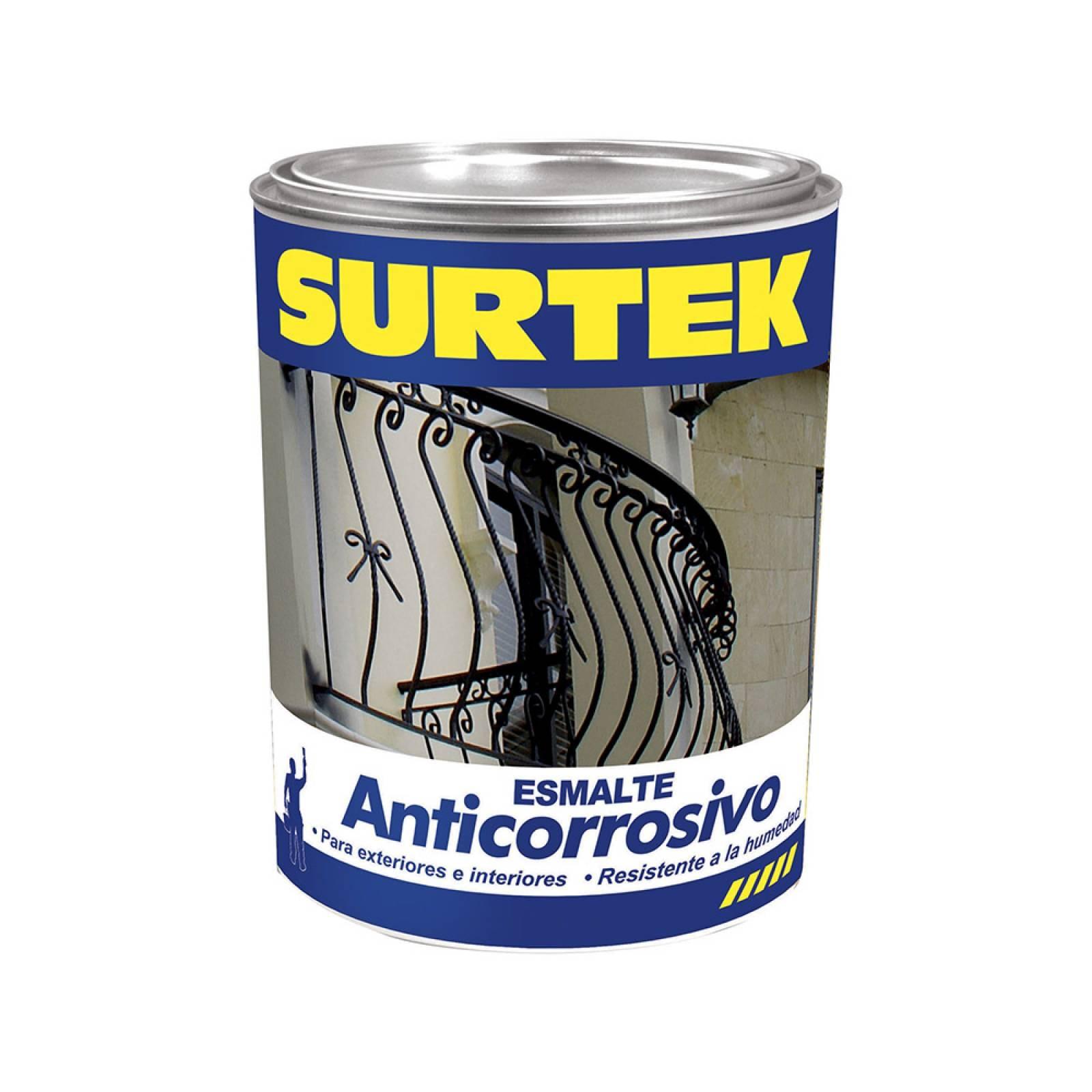 Esmalte anticorrosivo blanco 1lt SP30200 Surtek