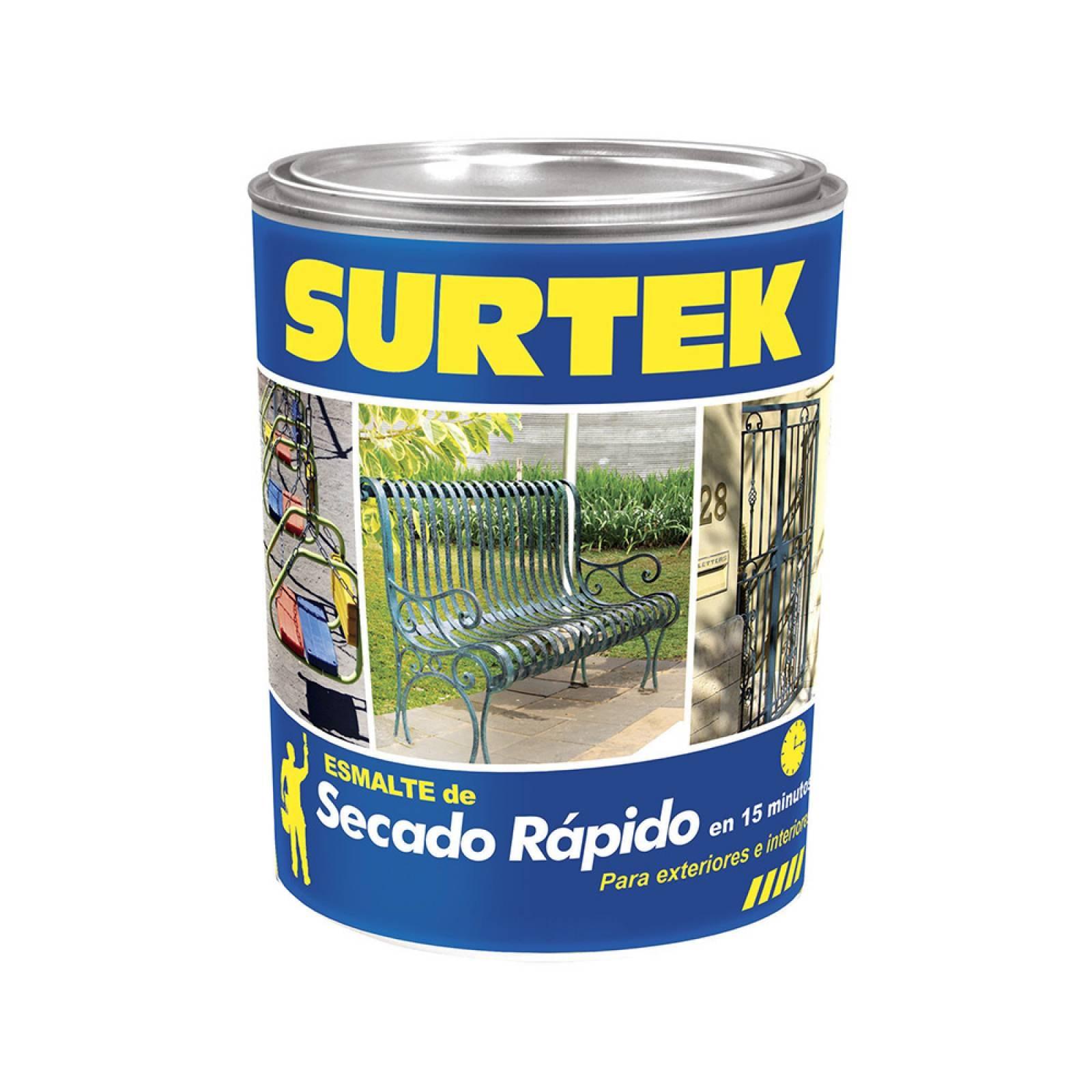 Esmalte de secado rápido blanco 250ml SP40100 Surtek