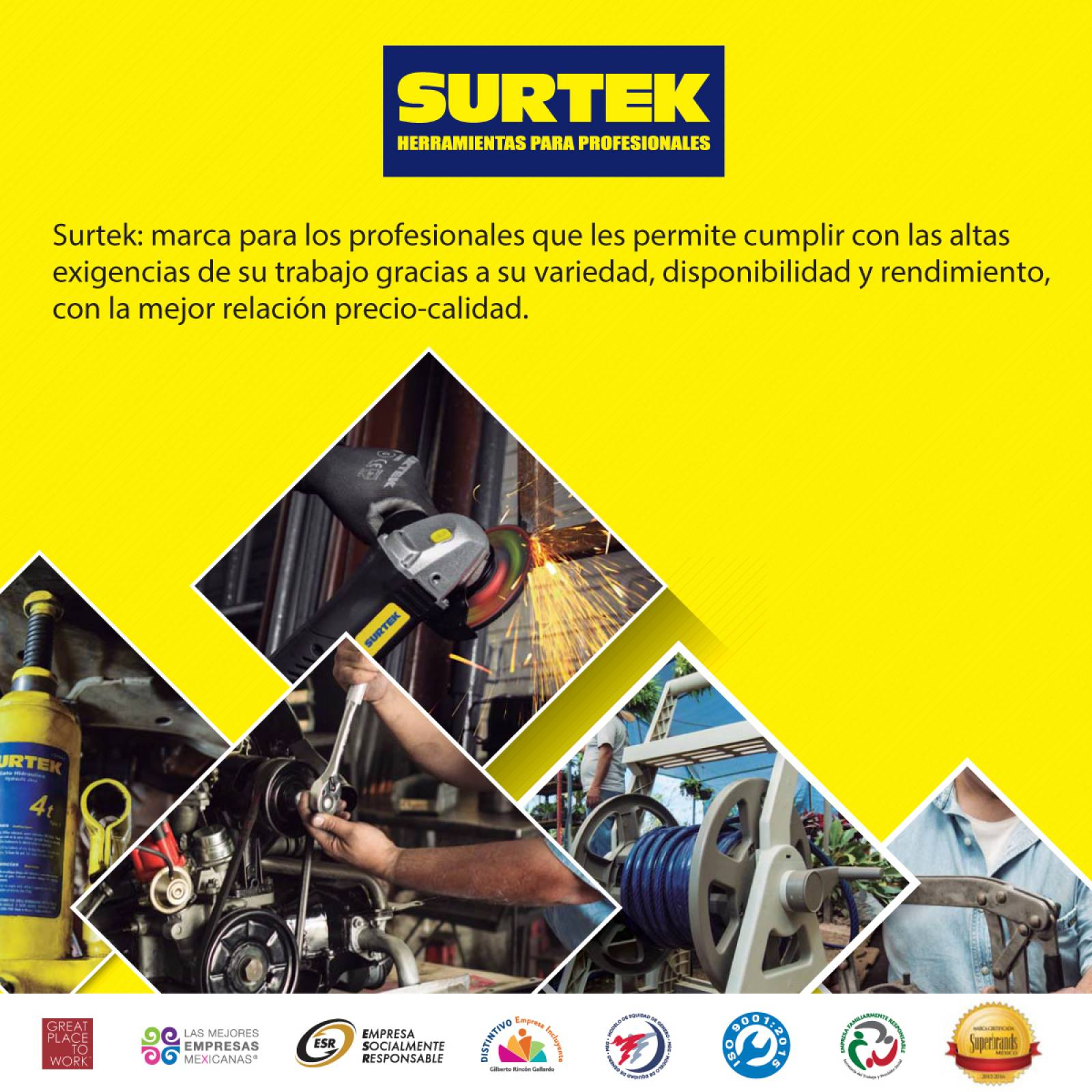 Espuma de poliuretano uso general 500 ml 113521 Surtek