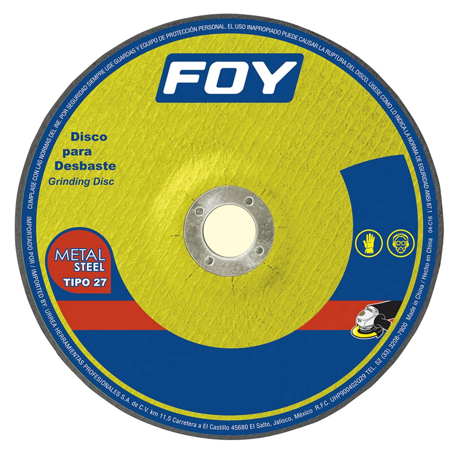 Disco T/27 Metal 4-1/2X3Mm 143522 Foy
