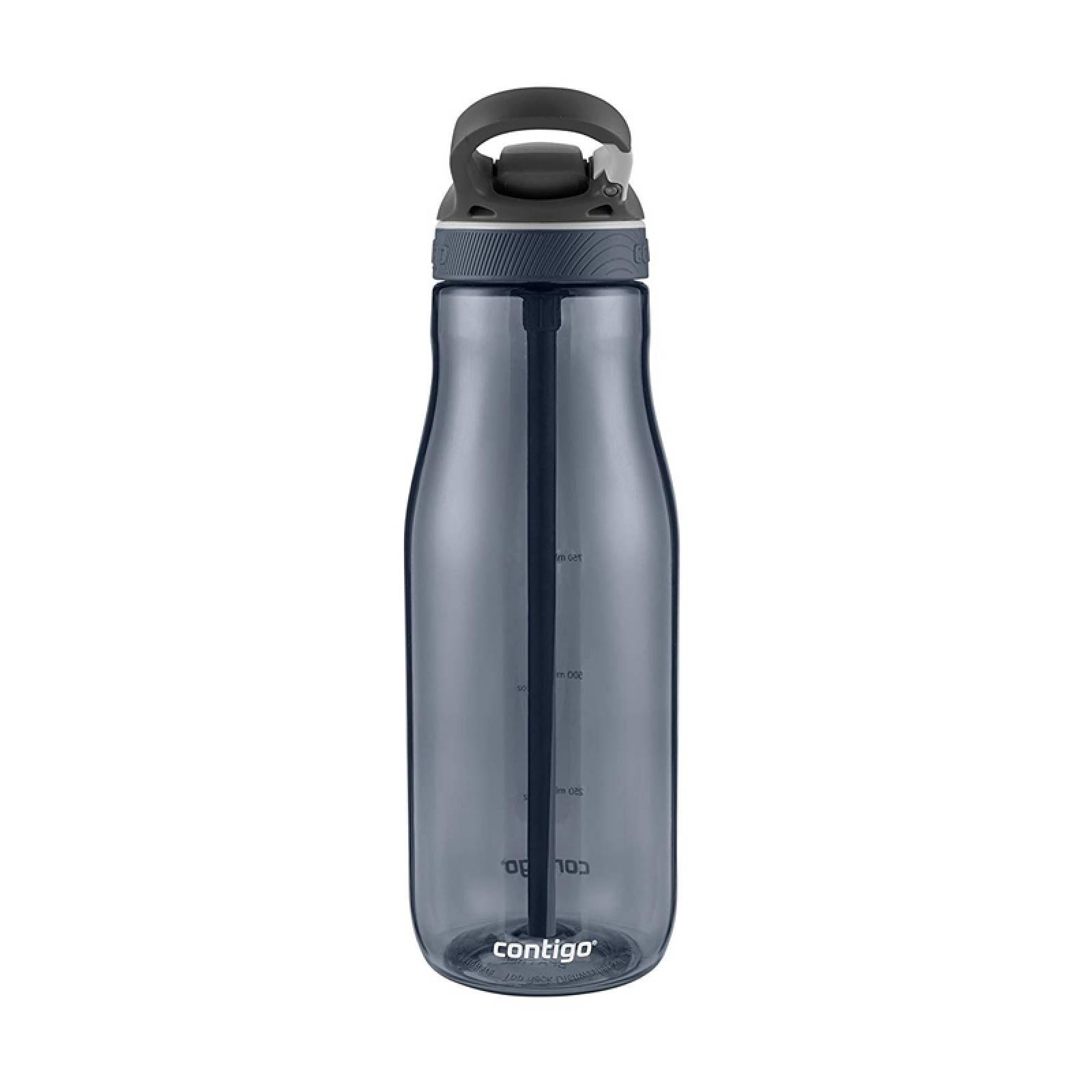 Botella Plastica 40 Oz Autospout Ashland Gris Humo Contigo