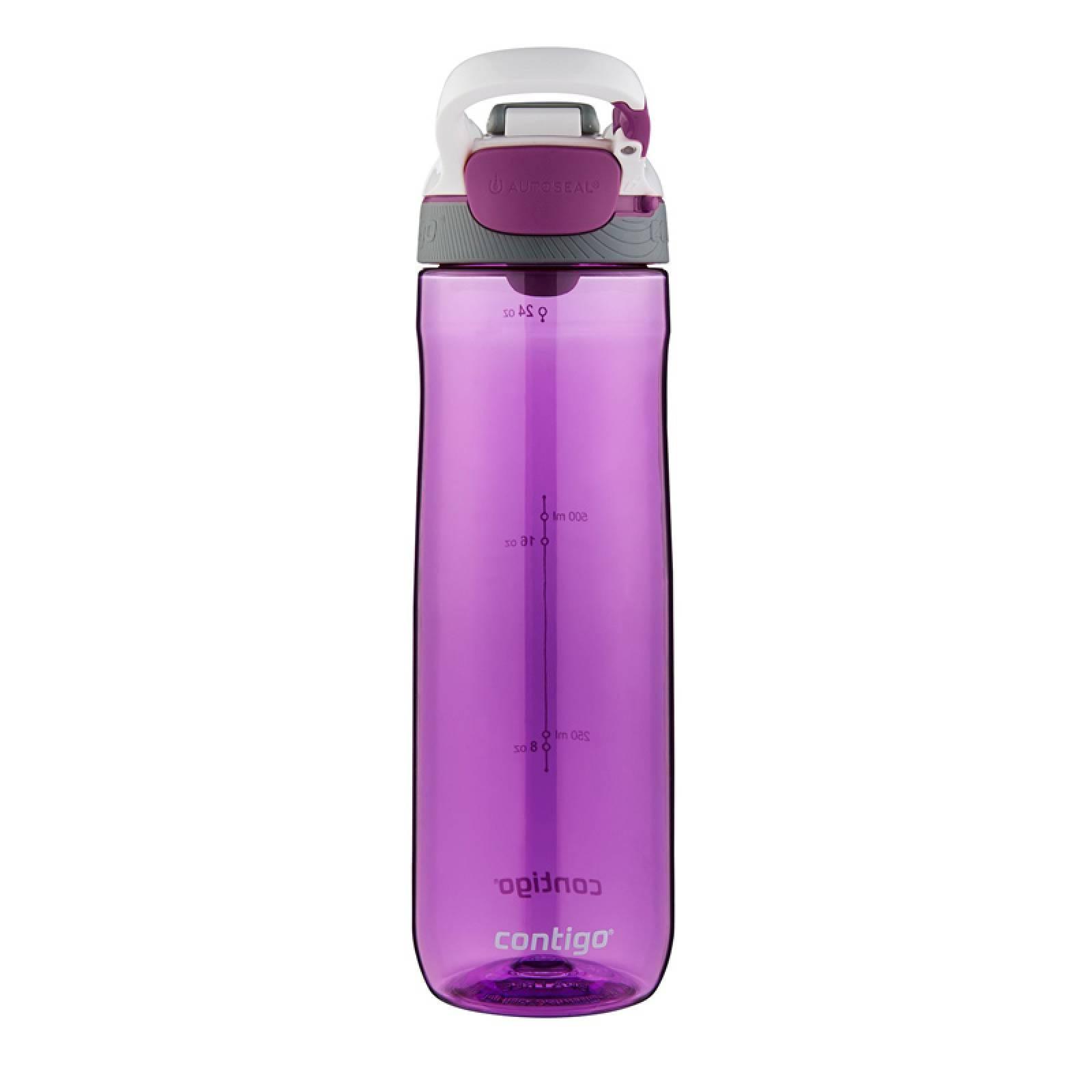 Botella Plastica 24 Oz Sistema Autoseal Cortland Morado Orquidea Contigo