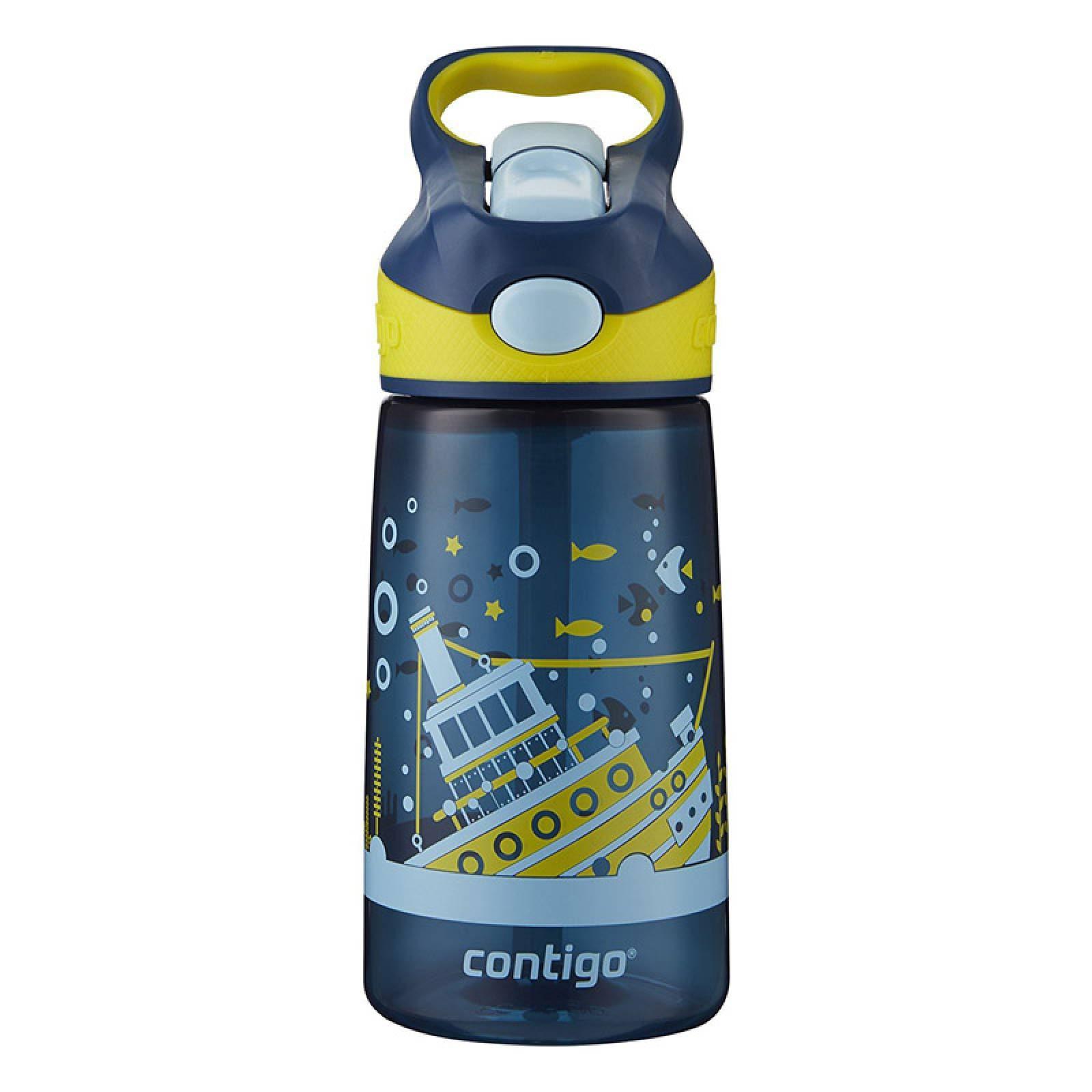 Botella Para Niños 14 Oz Autospout Barco Hundido Contigo
