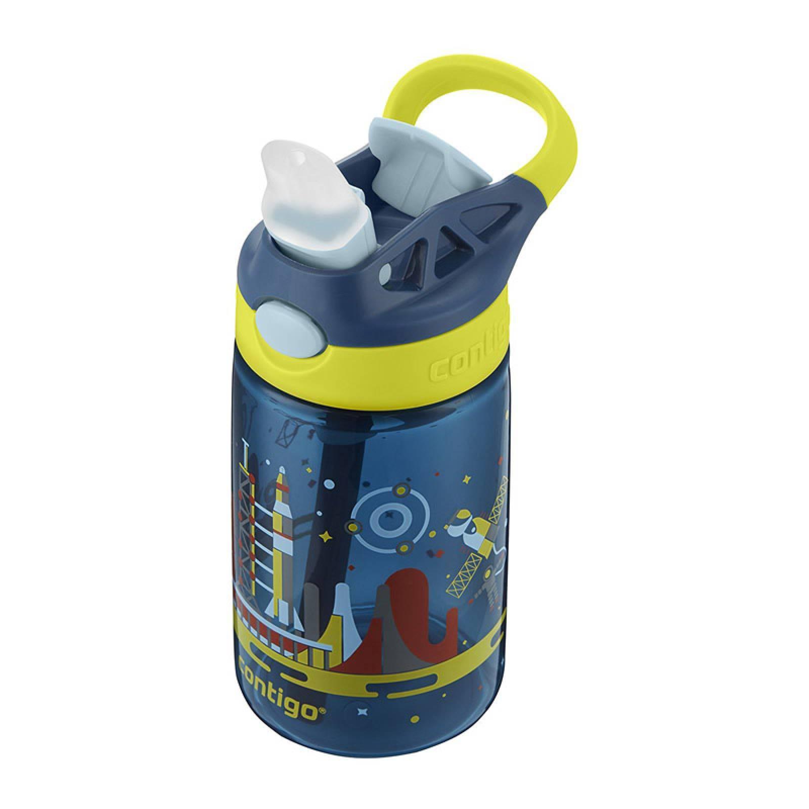 Botella Niños 14Oz Autosput Gizmo Estacion Espacial Contigo