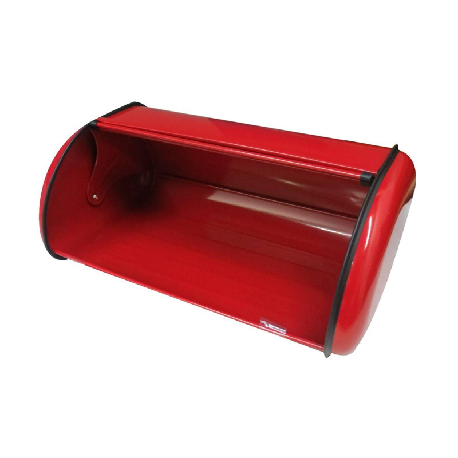 Panera De Acero Inoxidable Color Rojo 46X19X20 Cm Brandgap