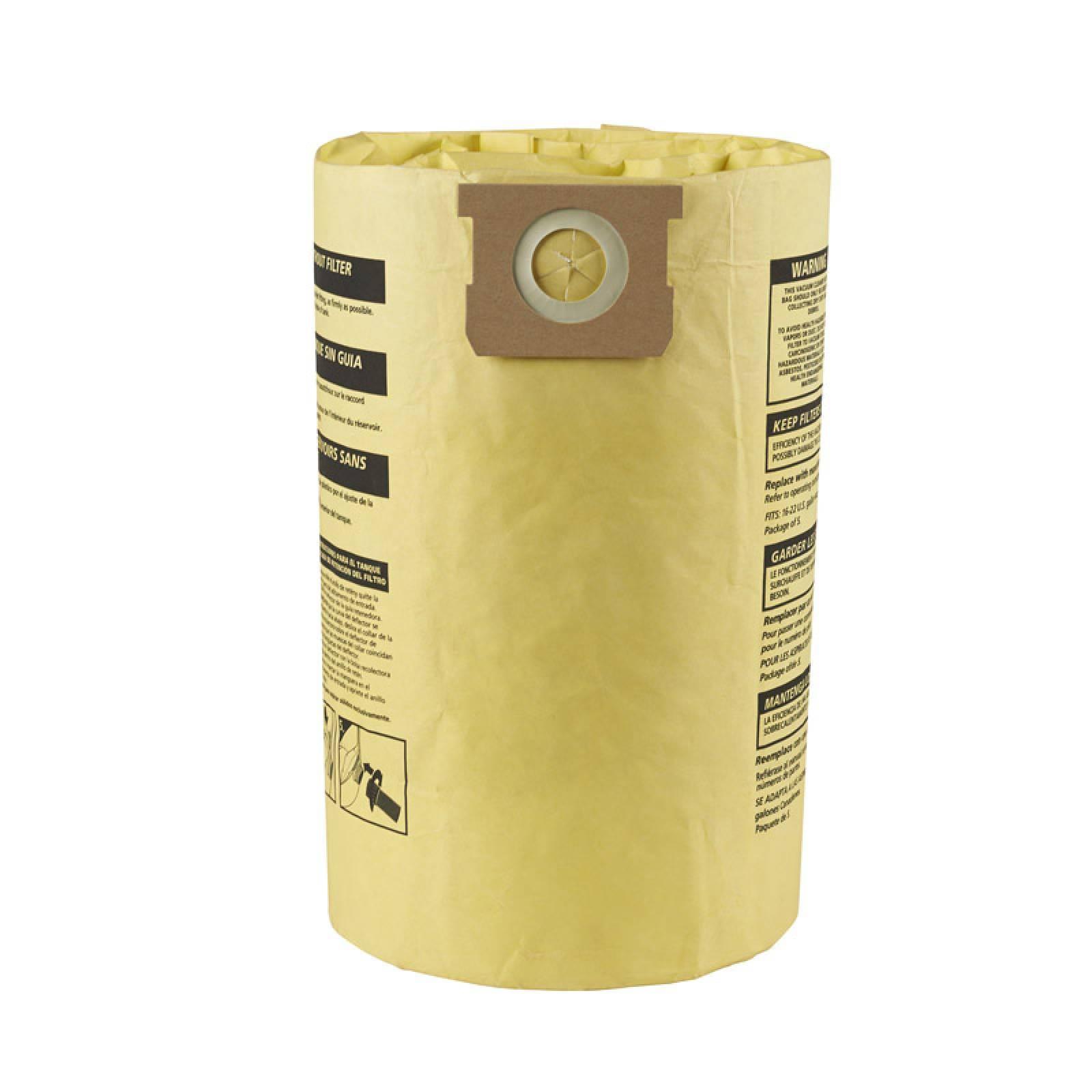 Bolsa Alta Eficiencia DryWall Tablaroca 16-20-22 Gal 2 Pzs