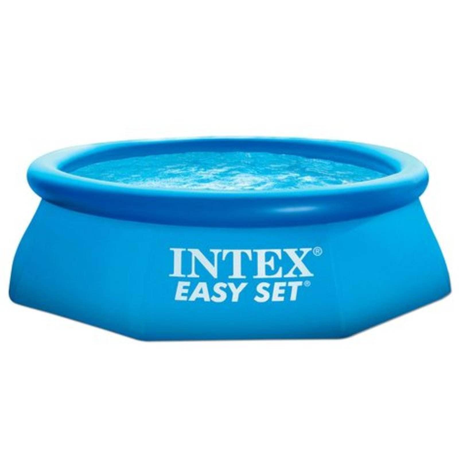 """Alberca Con Aro Inflable Easy Set De 8""""X30'' 28110Np Intex"""
