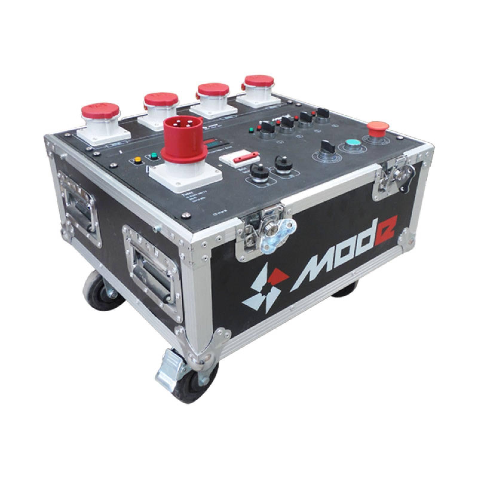 Consola Controladora de 4 Canales con Cable Para Polipasto de Espectaculos Mode Hoist