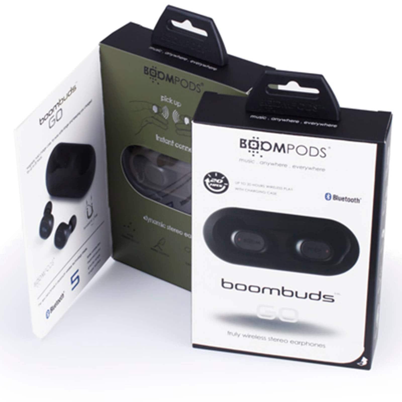 Audífonos Bluetooth 5.0 True IPX4 103 Db Boombuds Go