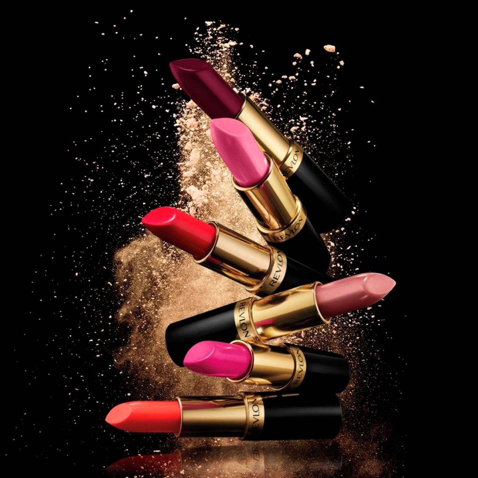 Labiales Acabado Brillante Superlustrous ColorIntenso Revlon Rich Girl Red
