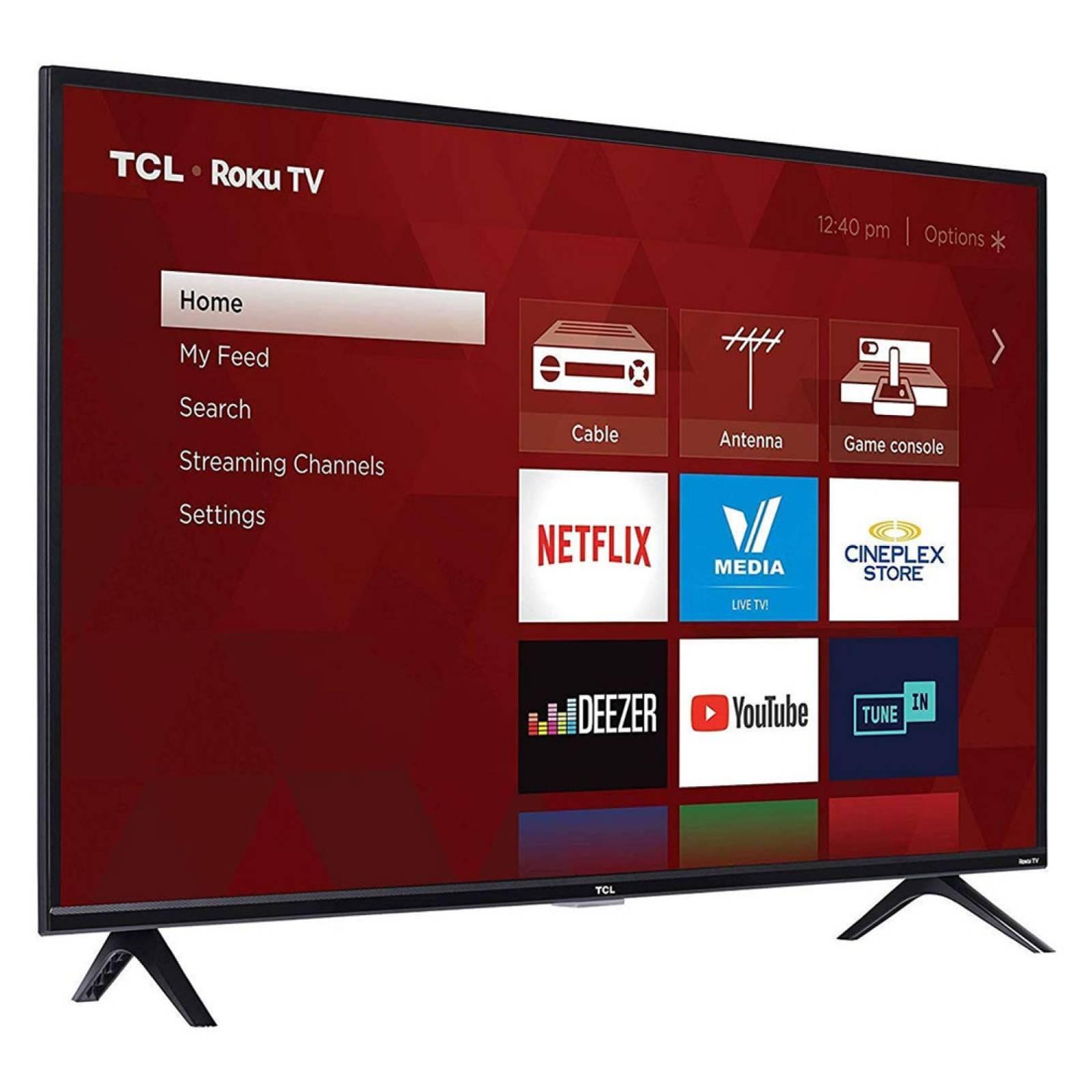 Smart Tv 50 Pulg 4K 3840X2160 60 Hz Full HD Roku TCL Reacondicionado