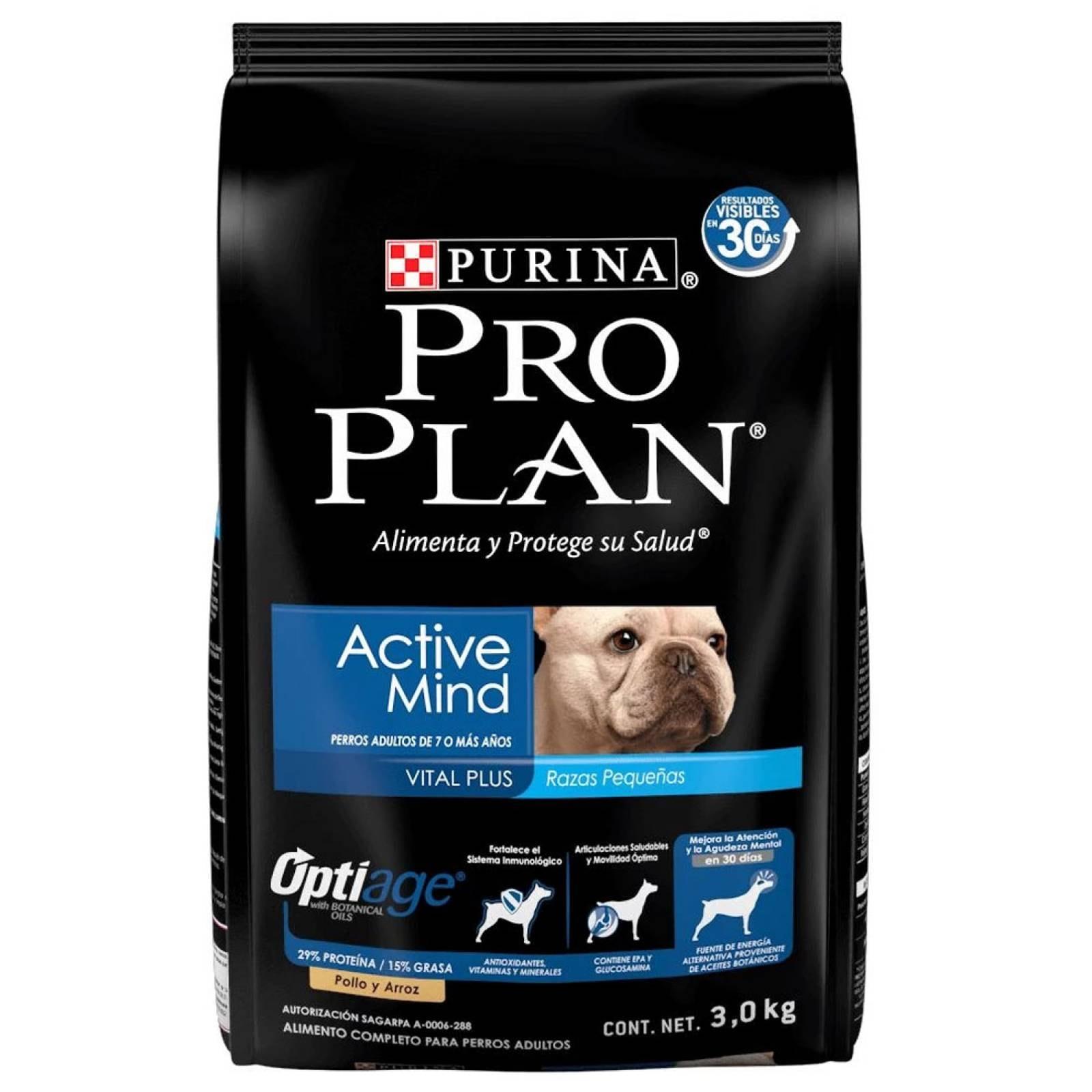 Alimento Perro Adulto 7+ Active Mind Optiage 7.5 Kg Pro Plan