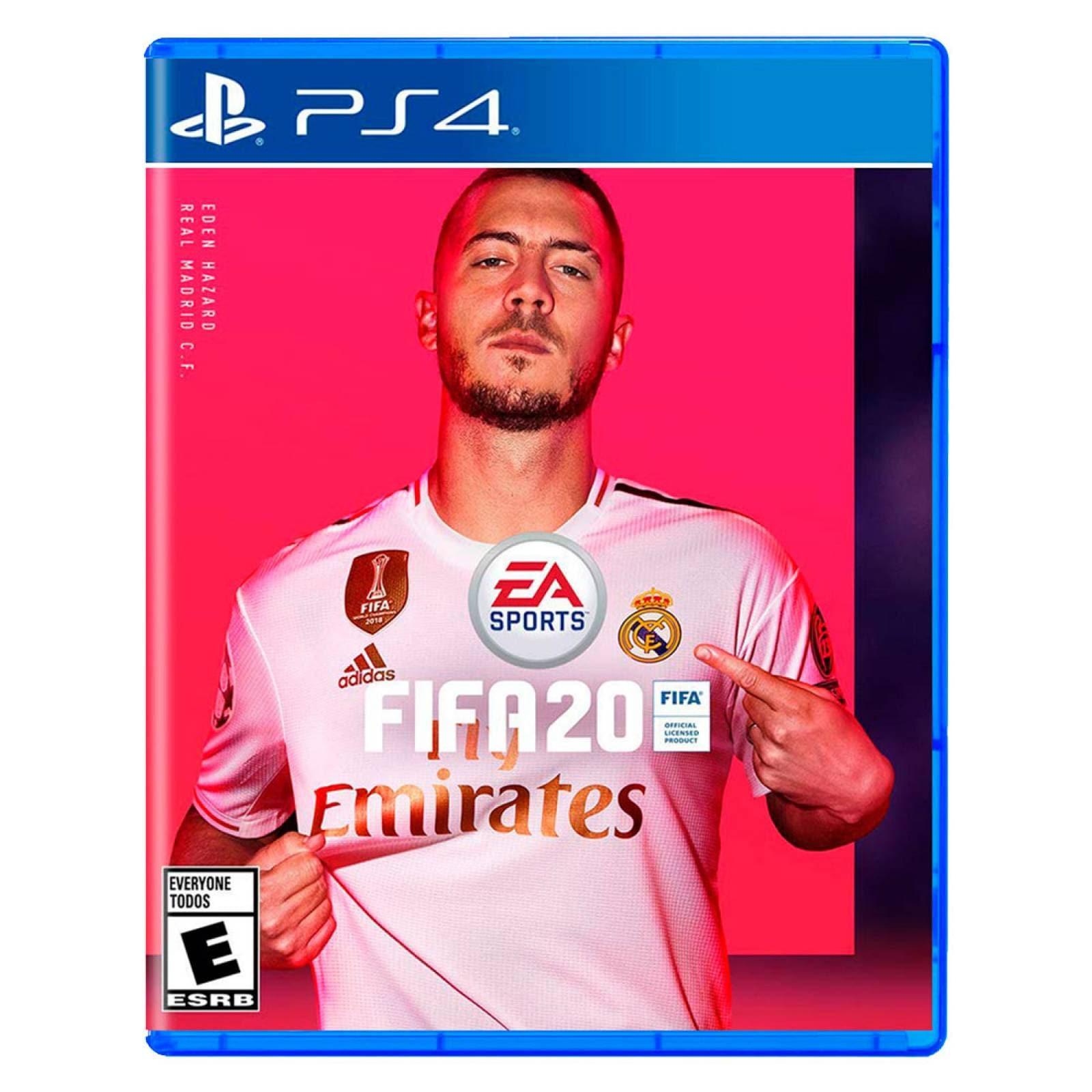 Juego PS4 FIFA 20 Videojuego Deportes Play Station 4