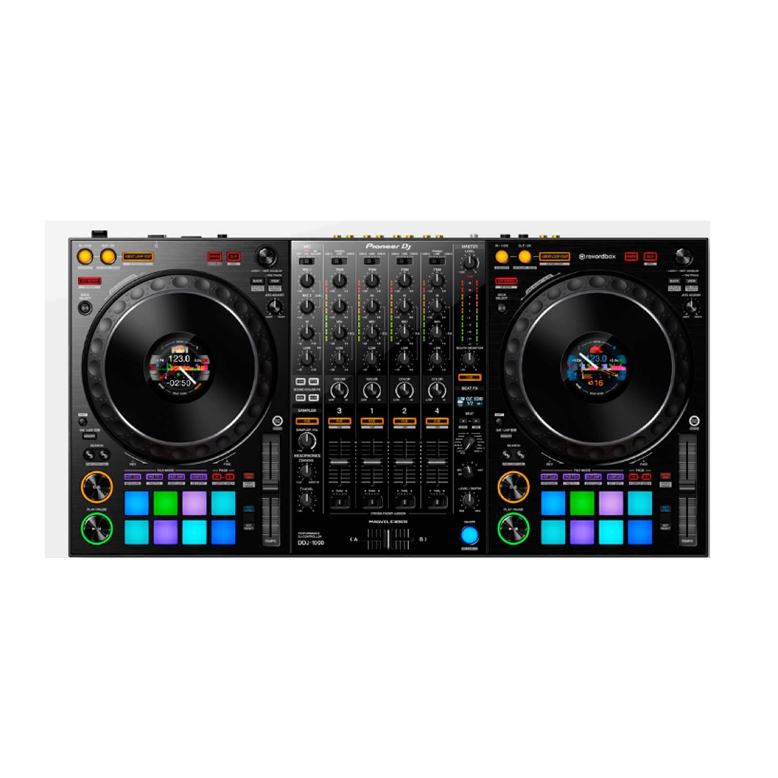 Controlador DJ 4 Canales Jog LCD Rekordbox DDJ-1000 Pioneer
