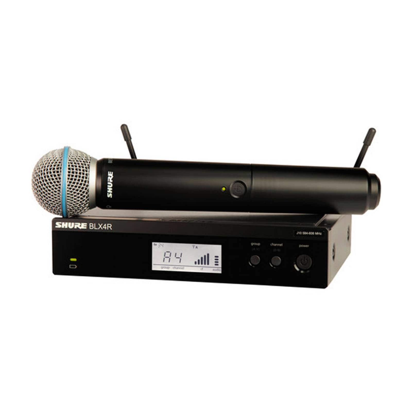 Micrófono Inalámbrico Receptor UHF 24MHz BLX24/B58 Shure