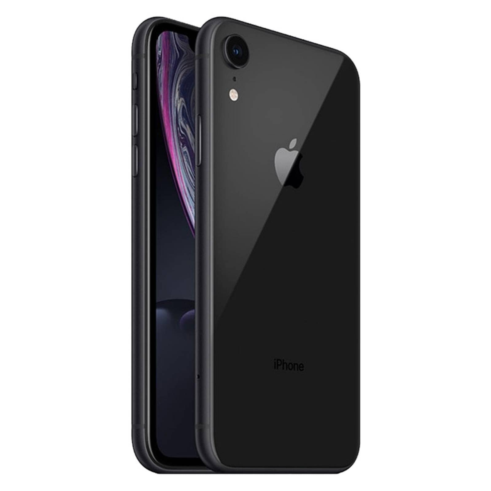 Iphone XR 64 GB Retina 6.1 Pulg Dual Sim IOS 13 Apple Black reacondicionado