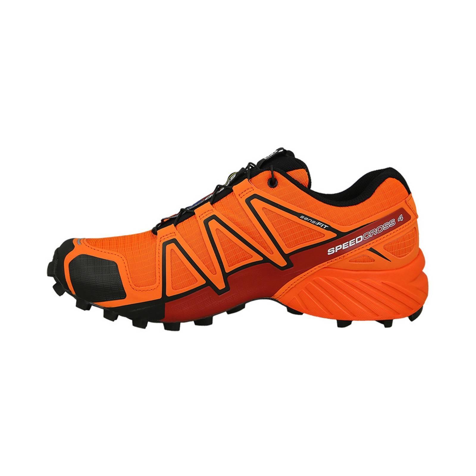 salomon speedcross 3 trail running naranja mecanica