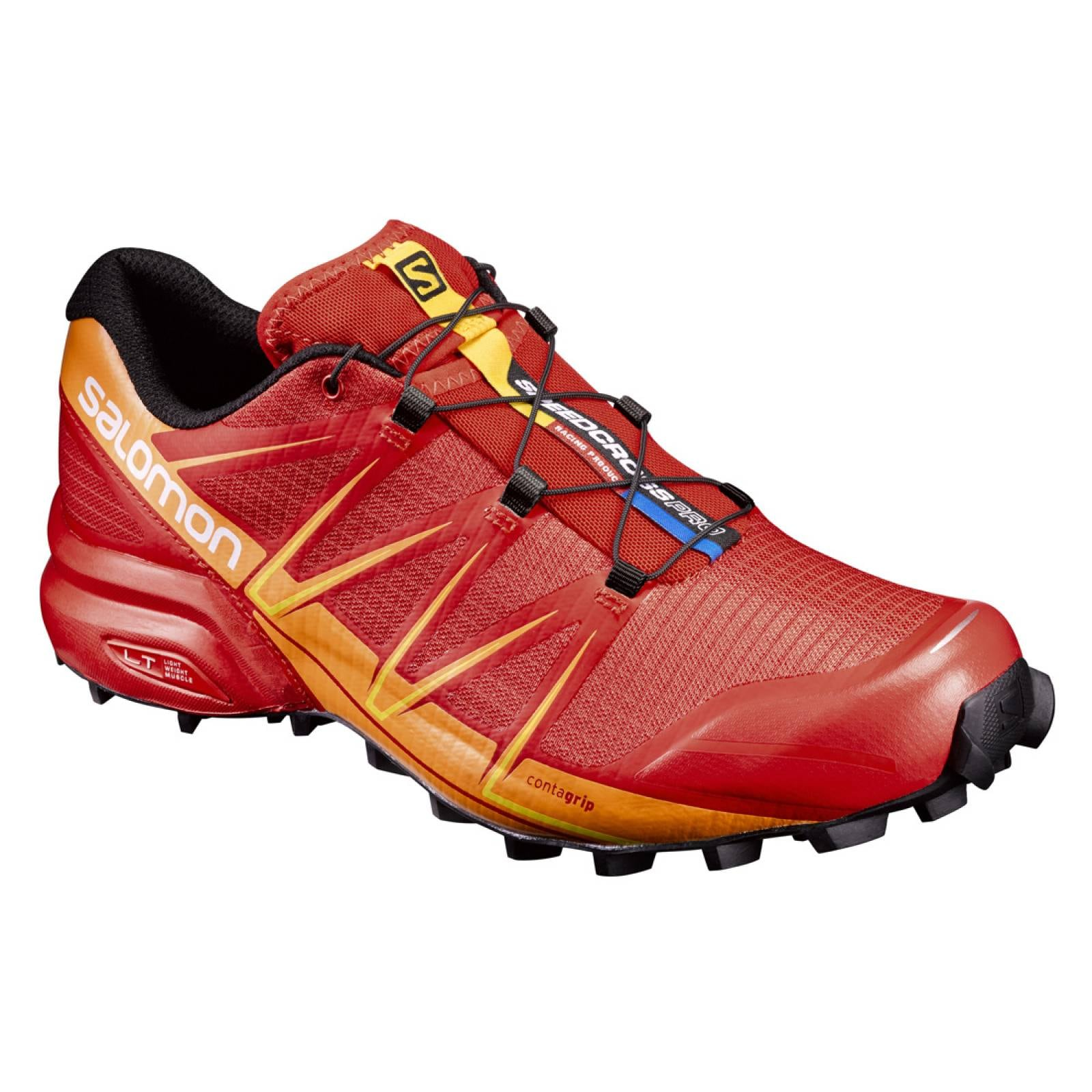 a184b7e8767 Tenis hombre salomon trail running speedcross pro rojo