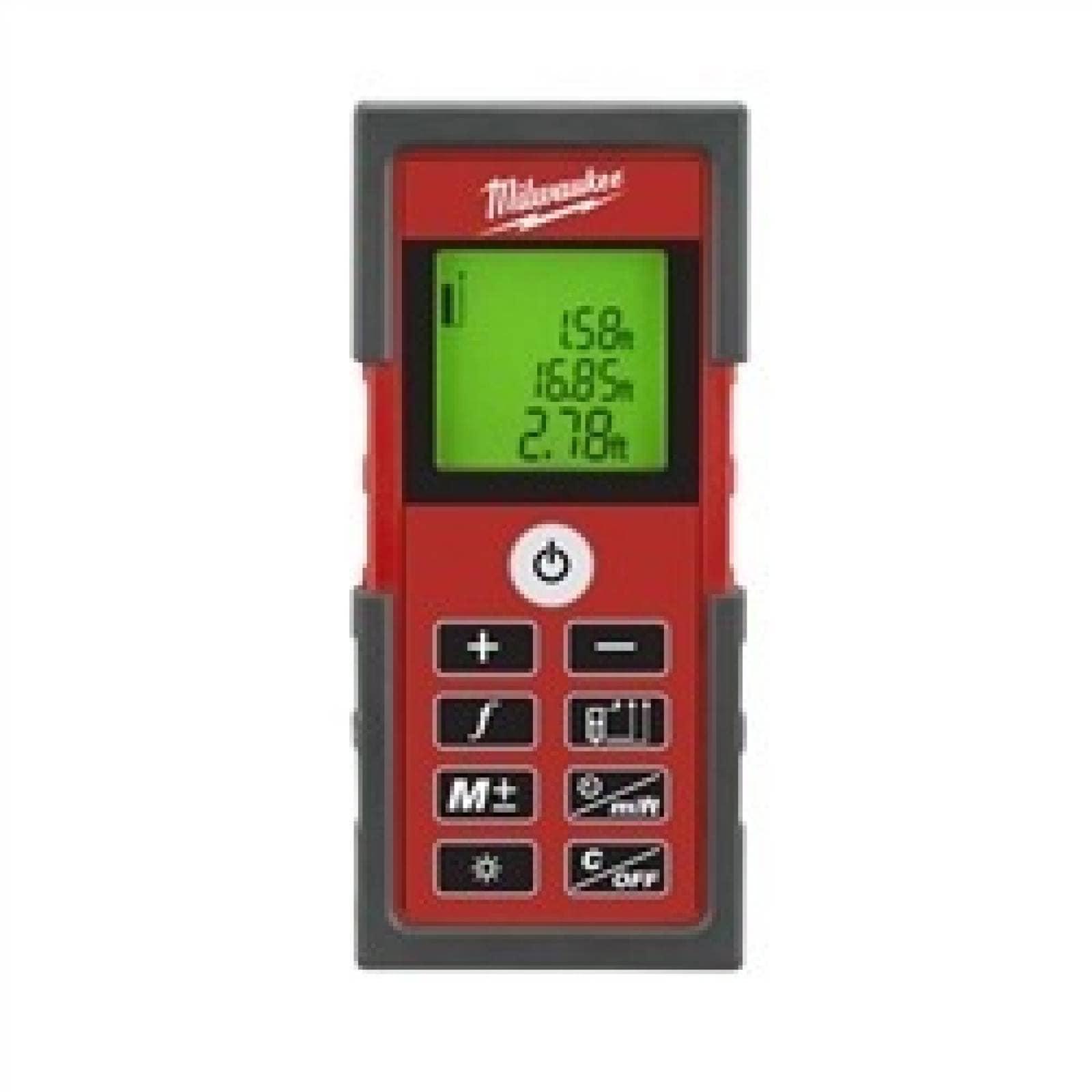 Medidor Distancia Laser Retroiluminada Milwaukee 228020