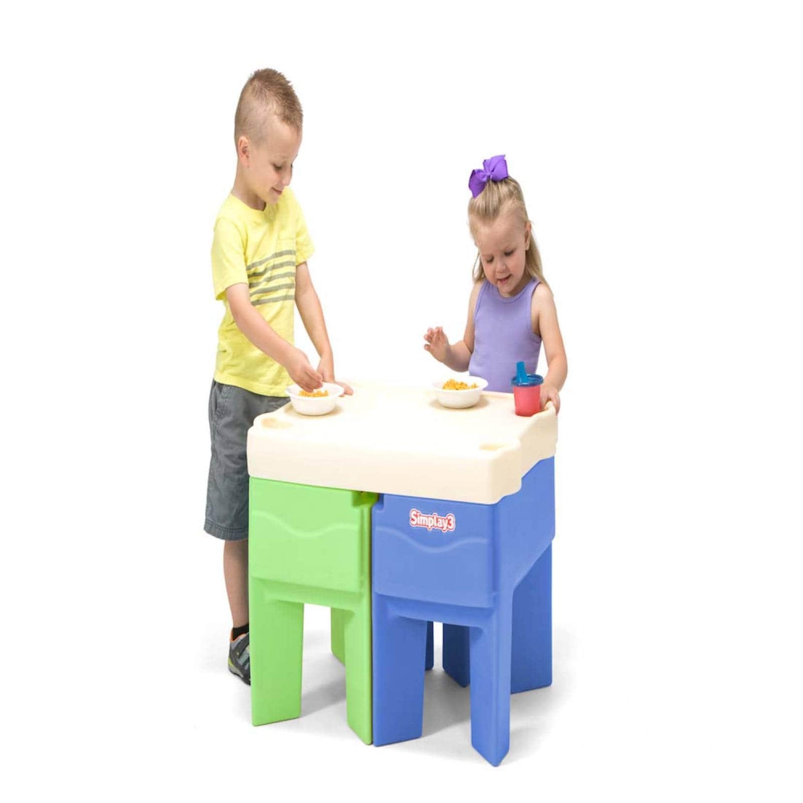 Mesa De Actividades De Entrada y Salida Para Niños Simplay3