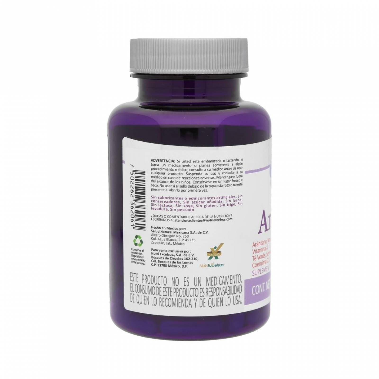 Mix Antioxidantes Cápsulas VitaMia