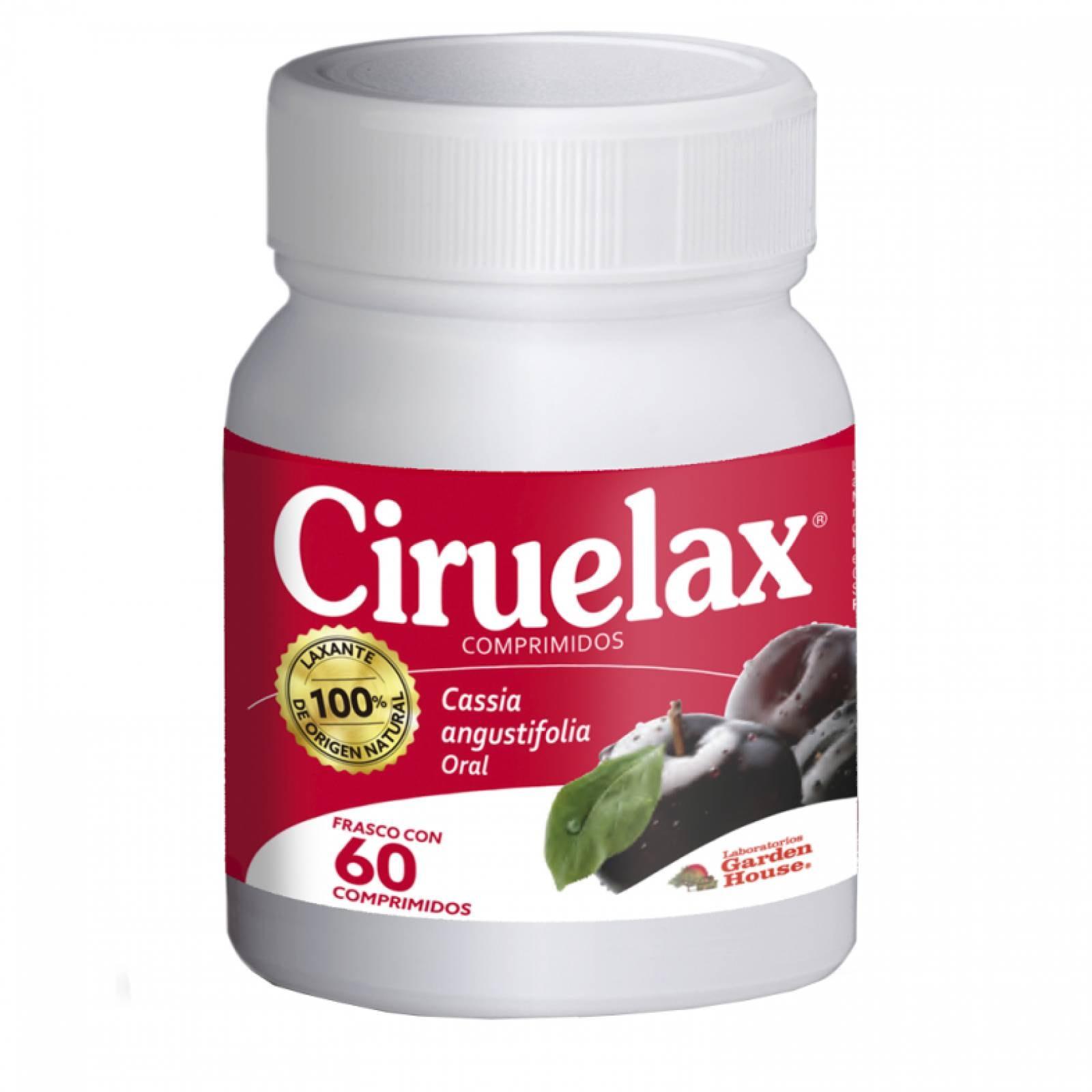 Pastillas Laxantes Estimulante Ciruelax 60 Comprimidos