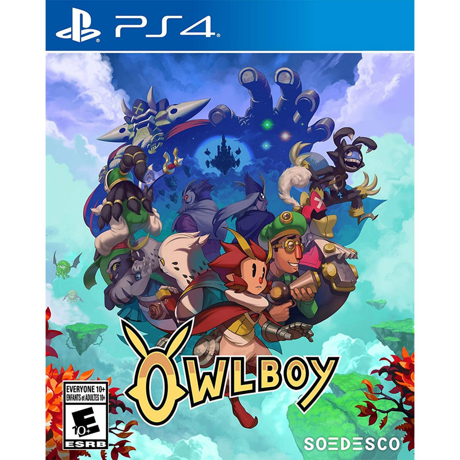 Juego Owlboy Play Station 4 Ibushak Gaming