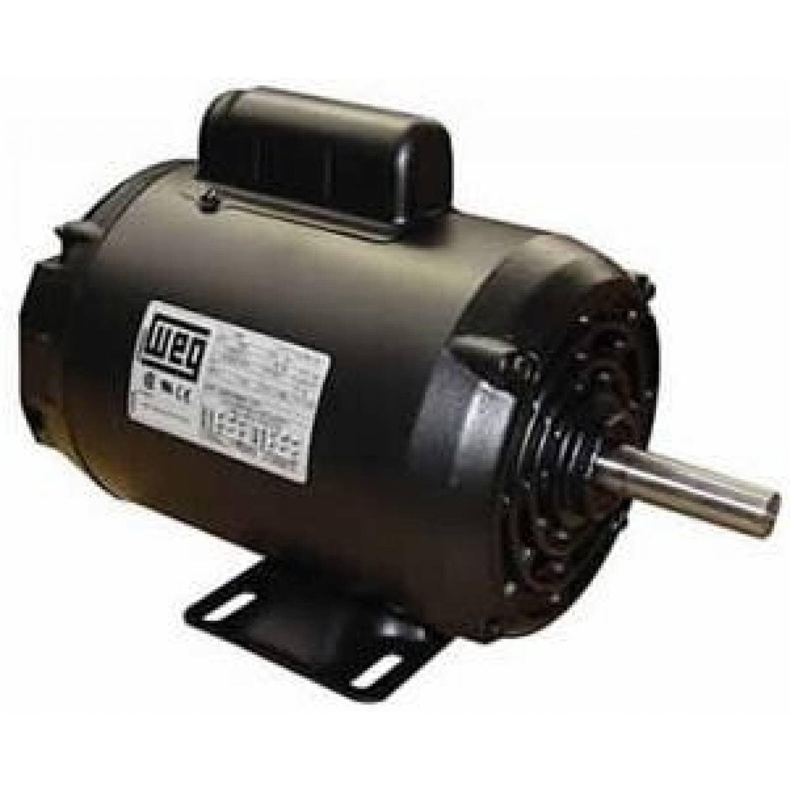 Motor Para Bomba Baja 1/2 127/220 Negro Weg