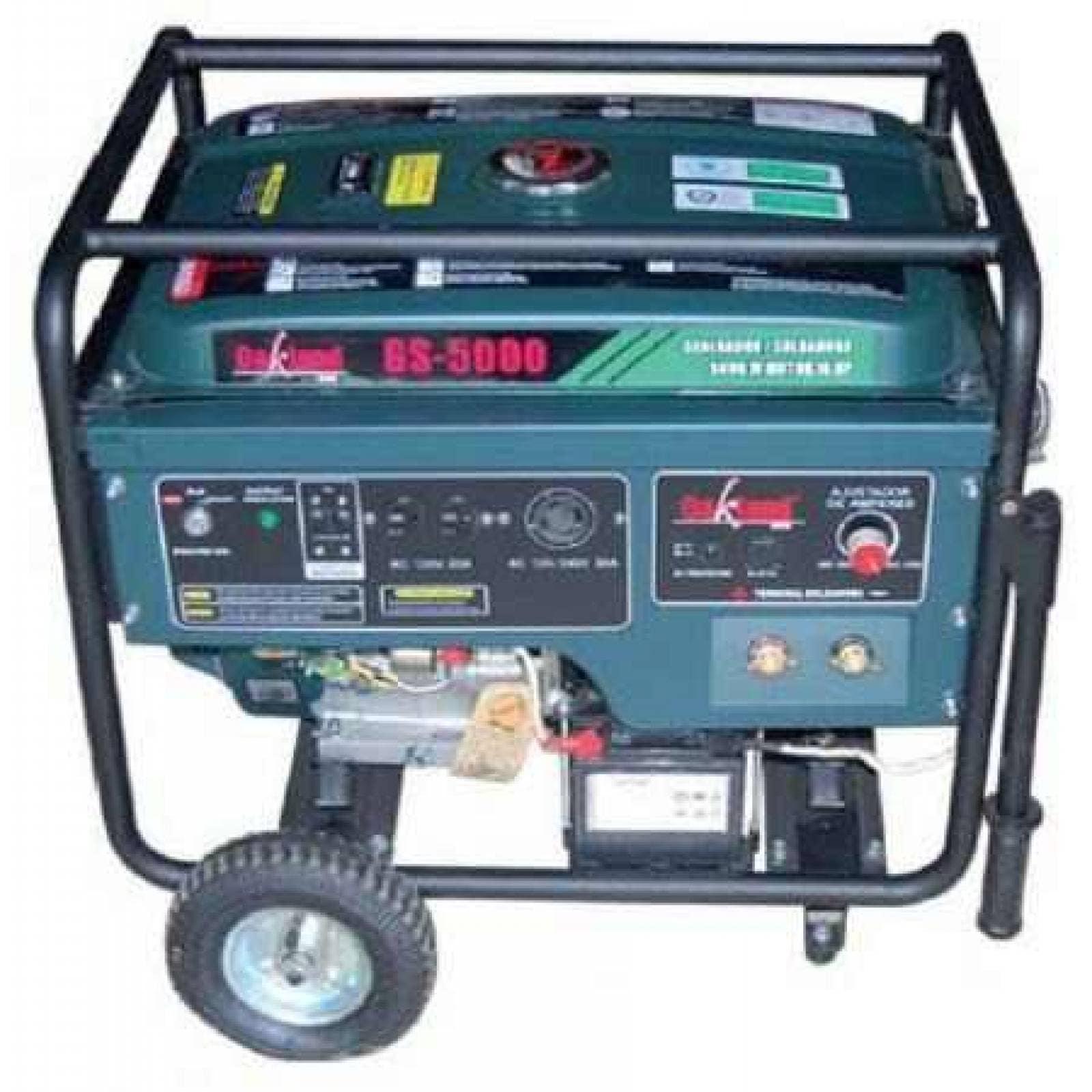 Generador Soldadora Oakland 5000w Gs5000 High Power