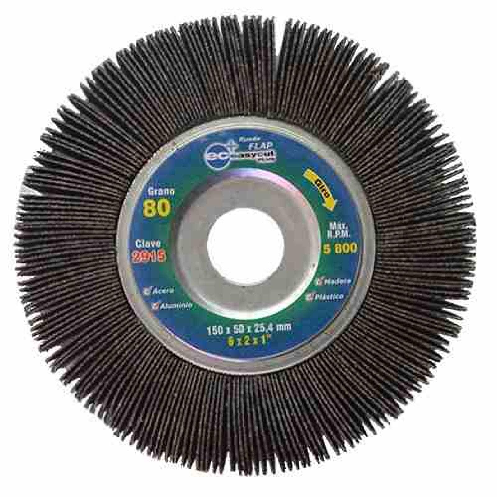 Lija Esmeril Flap Easy-Cut Plus Grano 80 2915 Acc Austromex