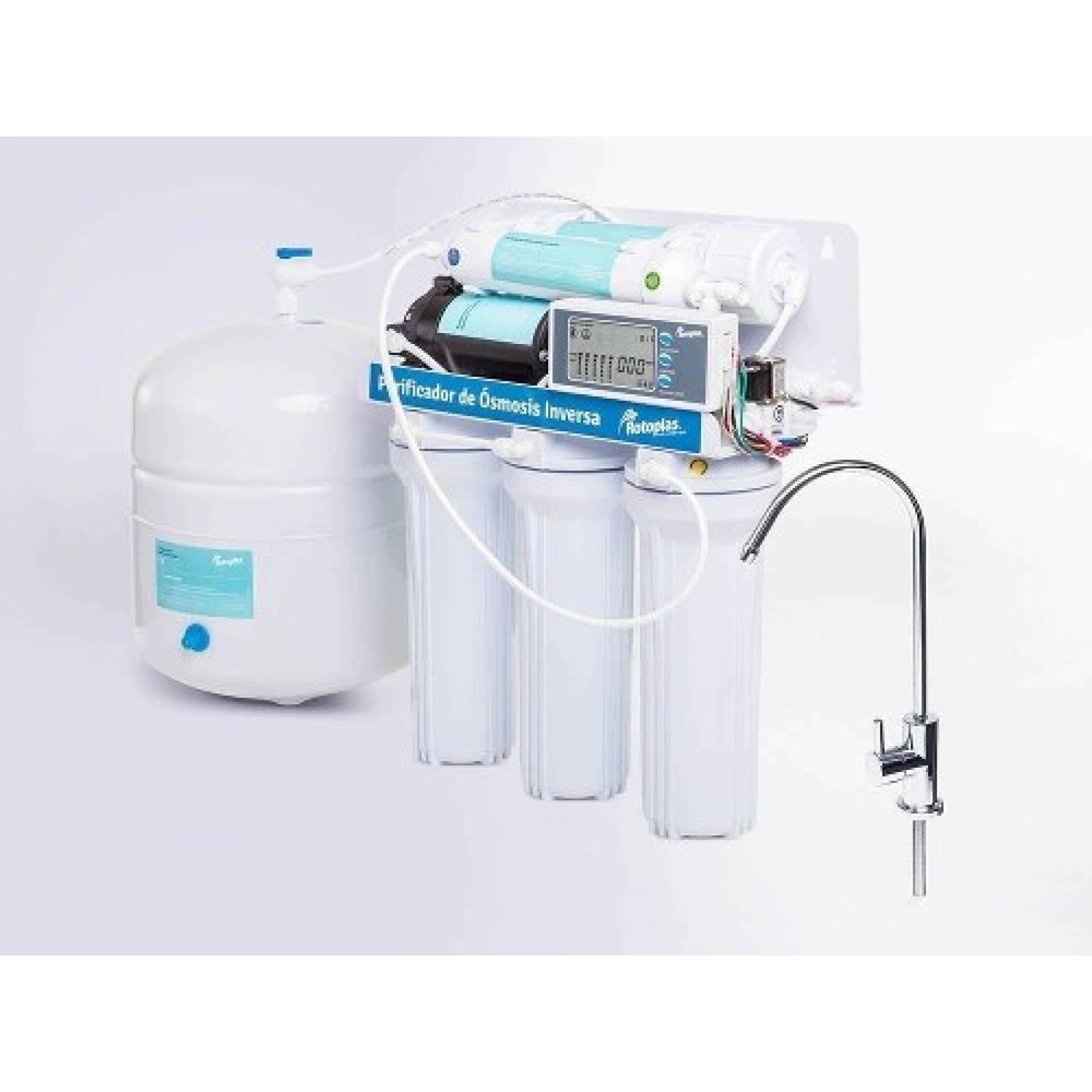 Filtro Agua Purificador Osmosis Inversa Accesorio Rotoplas