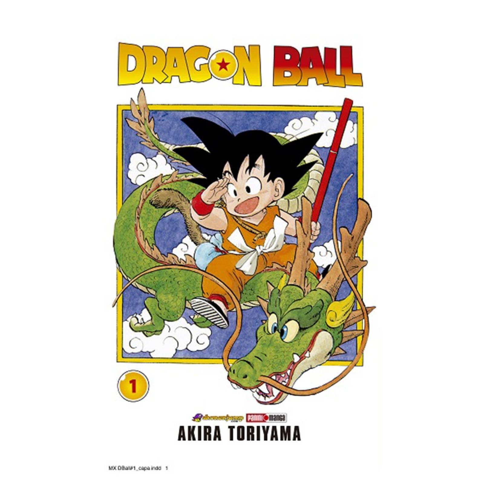 Panini Manga Dragon Ball Akira Toriyama  Volumen 1
