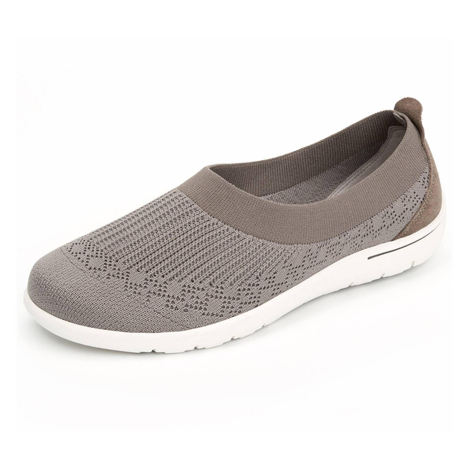 d39b012f Zapato flexi casual dama mujer cómodo moderno gris