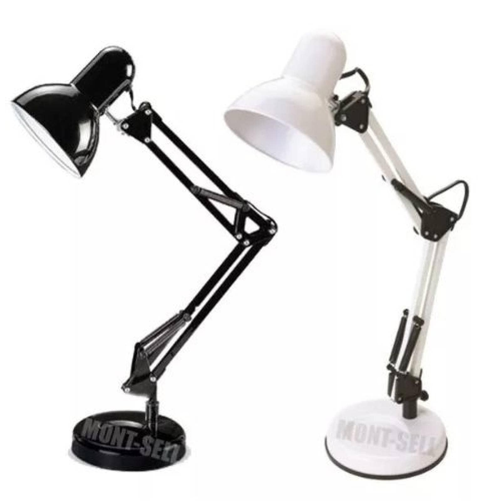 Lámpara Escritorio Flexible Base Fija Blanco AD-4723 Adir