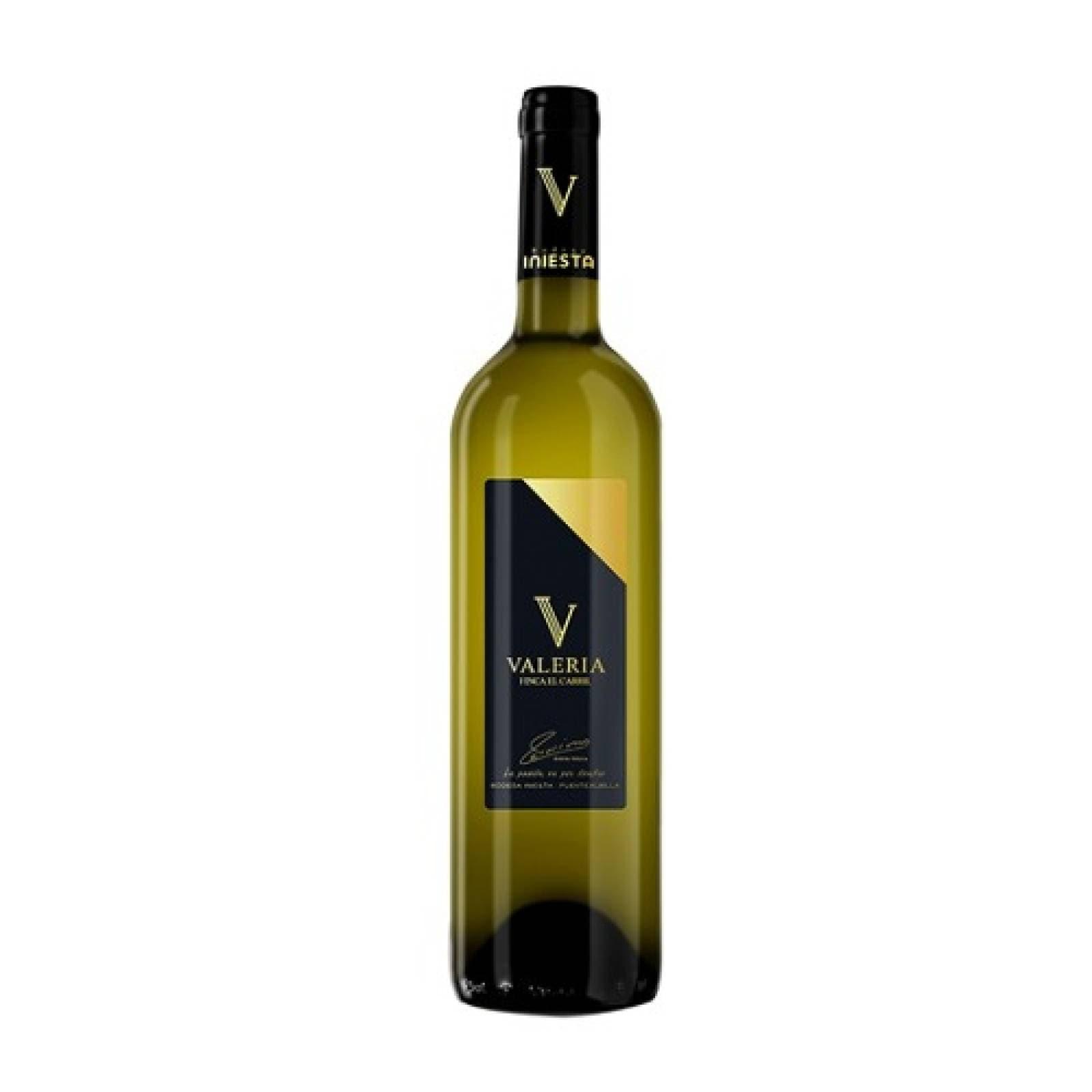 Bebida Alcohol Vino Blanco Valeria El Carril Bodega Iniesta