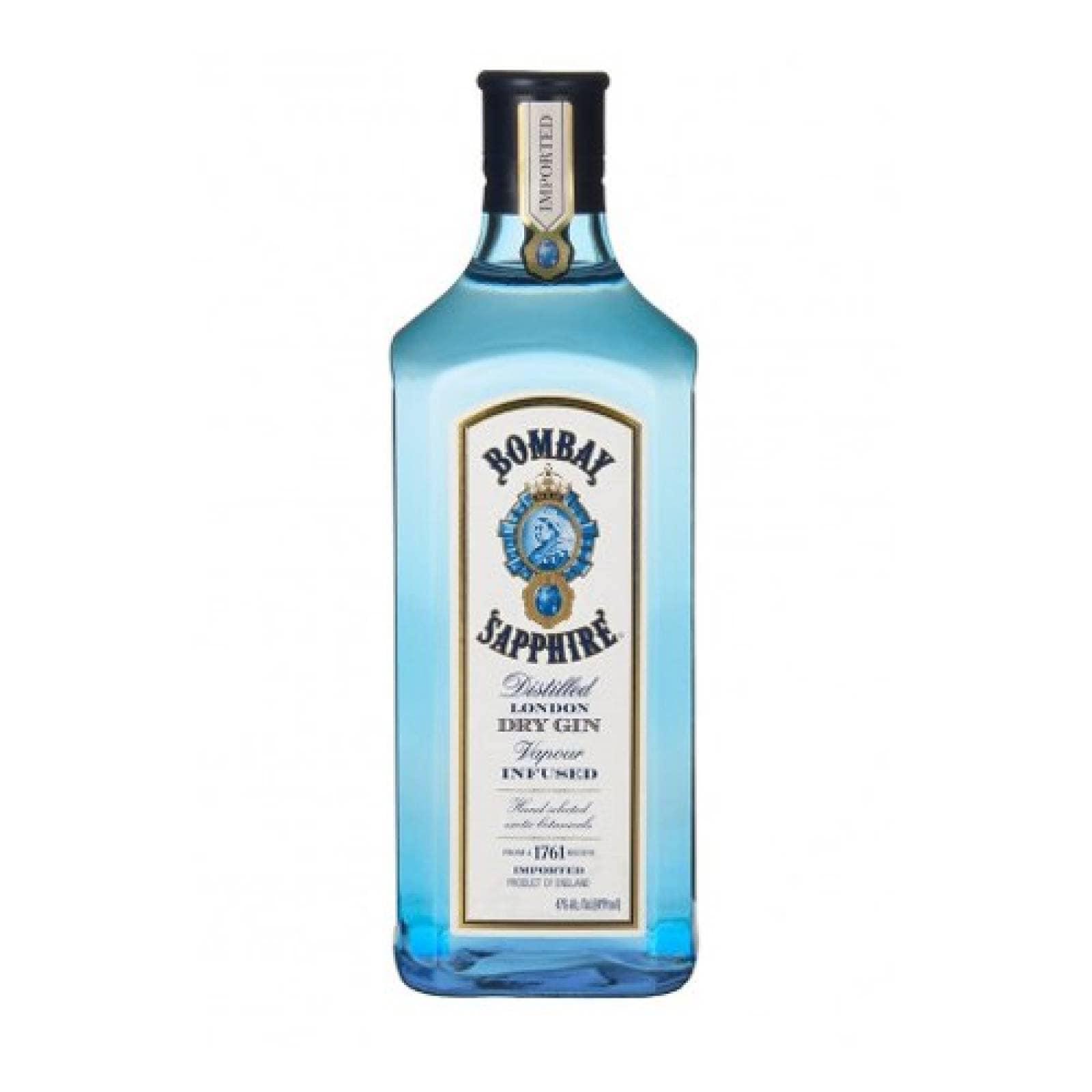 Bebida Alcohol Ginebra Bombay Sapphire 750 ml Cuatro Jinetes